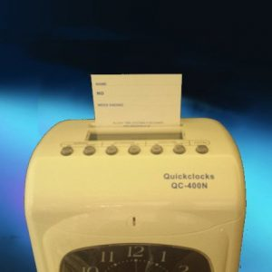 QC400/ QC500 Range – Clock Cards