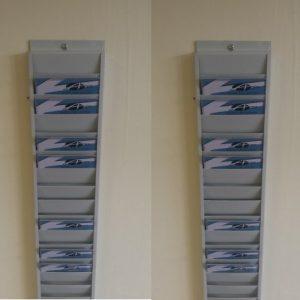 Metal Card Rack